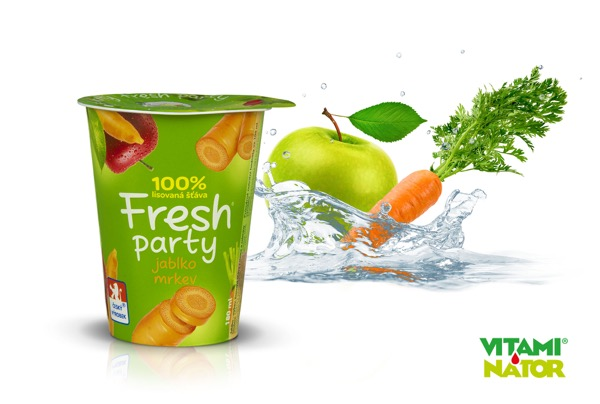 Fresh Party - Jablko a mrkev Vitaminátor
