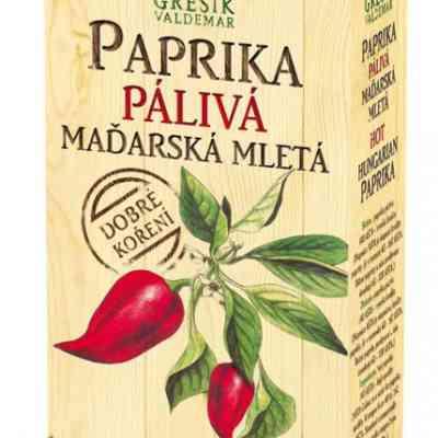 Paprika pálivá maďarská mletá