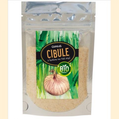 BIO sušená cibule