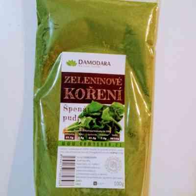 Špenát pudr (jemný prášek)
