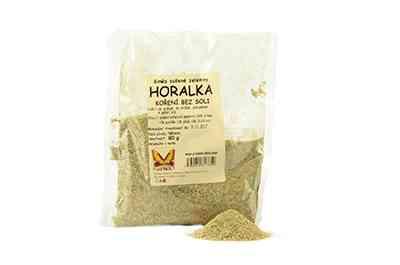 Horalka - směs sušené zeleniny bez soli