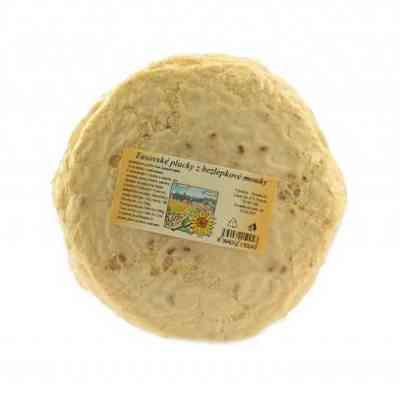 Chlebové Tasovské placky bezlepkové