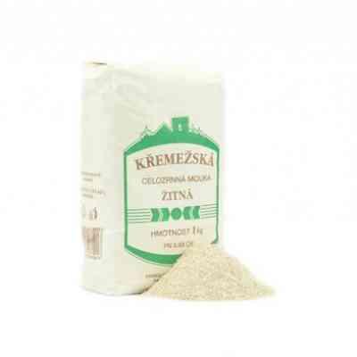 Křemežská celozrnná žitná