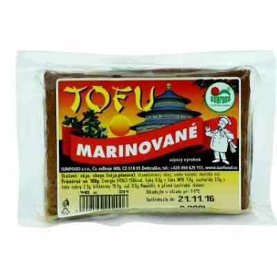 Tofu marinované