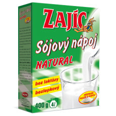 Sojový nápoj Zajíc natural