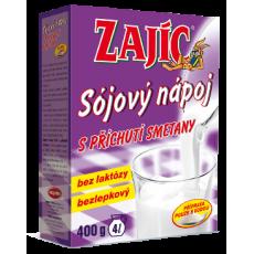 Sojový nápoj Zajíc s příchutí smetany