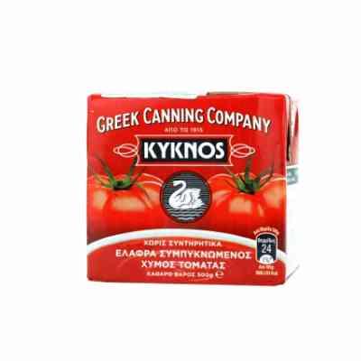 Koncentrovaná rajčatová šťáva (pyré - passata) z Řecka