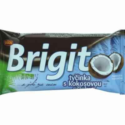 Brigit - tyčinka s kokosovou příchutí