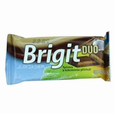 Brigit DUO - tyčinka s kokosovou příchutí