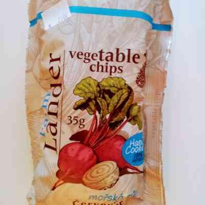 Chipsy červená řepa - celer - moř.sůl