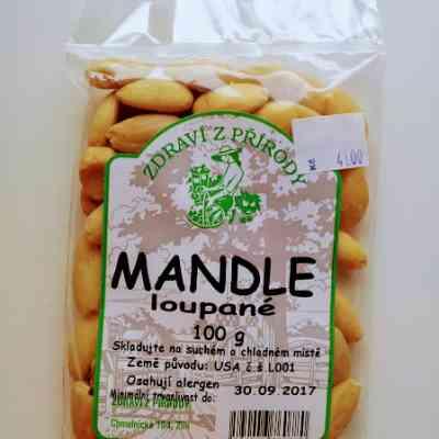 Mandle loupané