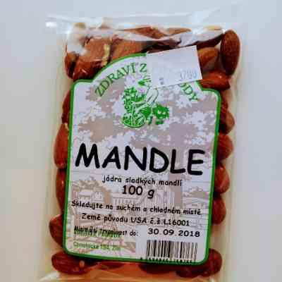 Mandle natural