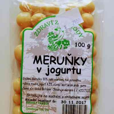 Meruňky v jogurtu