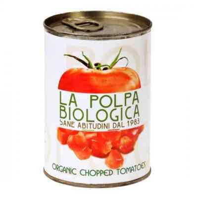 Rajčata sekaná sterilovaná BIO