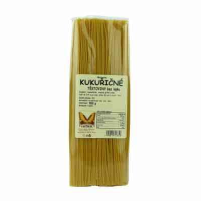 Kukuřičné těstoviny-špagety bez lepku Natural