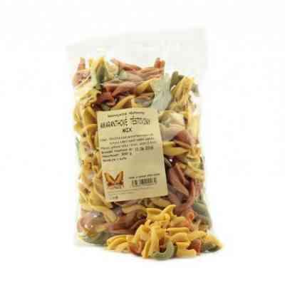 Amaranthové těstoviny mix Natural