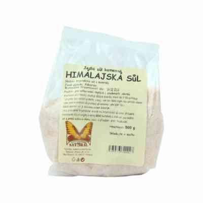 Himalájská sůl růžová jemná Natural