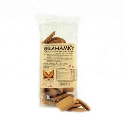 Grahamky celozrnné sušenky Natural