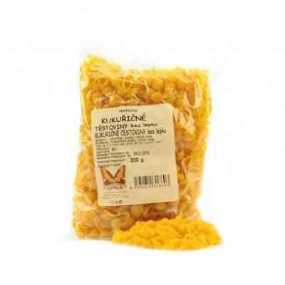 Kukuřičné těstoviny- mušle Natural