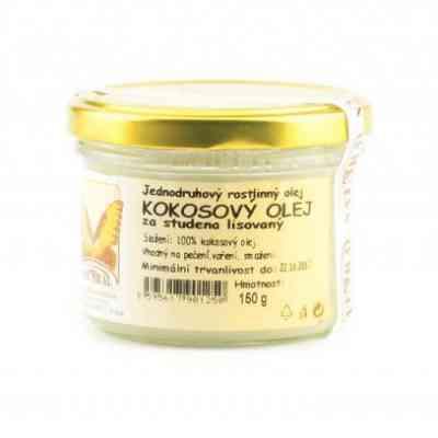 Olej kokosový 150g Natural - za studena lisovaný