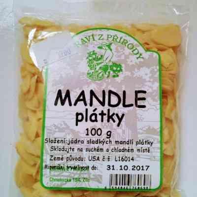 Mandle plátky