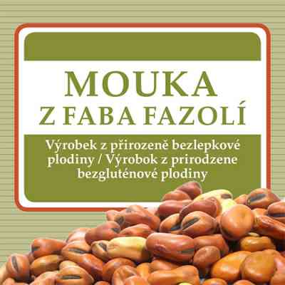 Mouka z faba fazolí