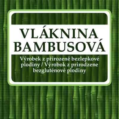 Vláknina BAMBUSOVÁ