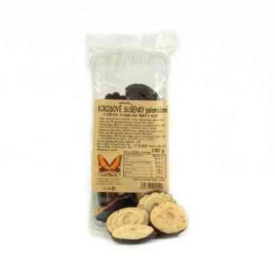 Kokosové sušenky polomáčené Natural