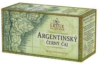 Argentinský - černý čaj
