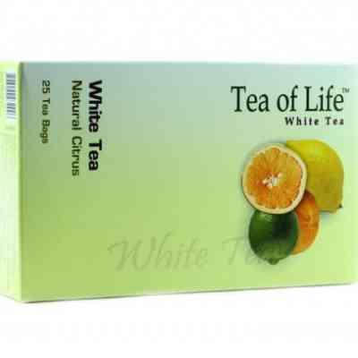 Bílý čaj s příchutí citrusu Tea of Life