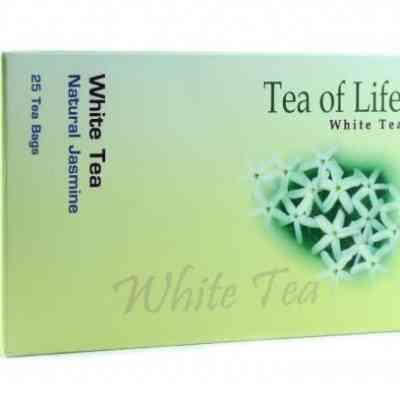 Bílý čaj s příchutí jasmínu Tea of Life