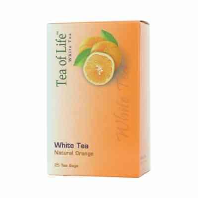 Bílý čaj s příchutí pomeranče Tea of Life