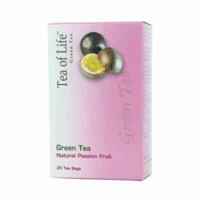 Zelený čaj s příchutí mučenky Tea of Life