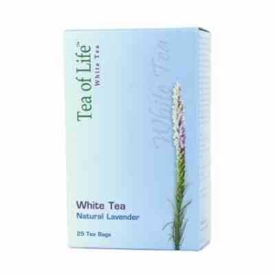 Bílý čaj s příchutí levandule Tea of Life