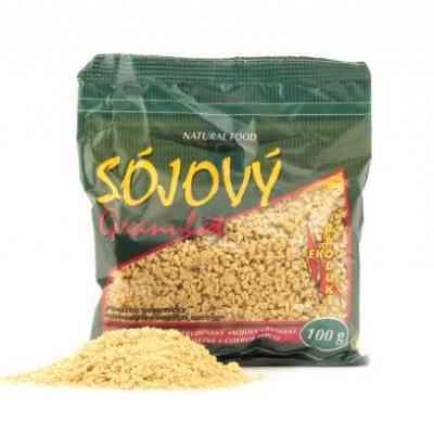 Sójový granulát