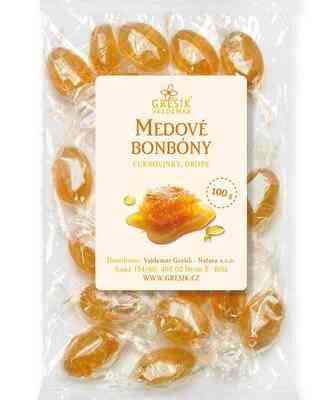 Bonbony medové