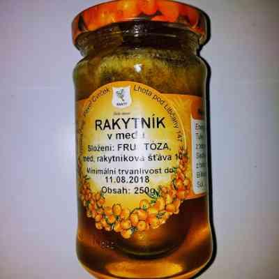 Rakytník v medu CVRČEK