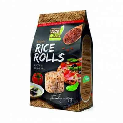 Rýžové minichlebíčky pizza, olivový olej Rice Up