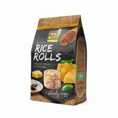 Rýžové minichlebíčky italský sýr, olivový olej Rice Up