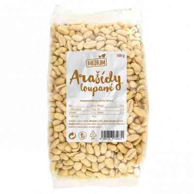 Arašídy loupané Medium 500 g