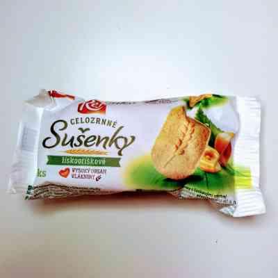 Celozrnné sušenky lískooříškové REJ