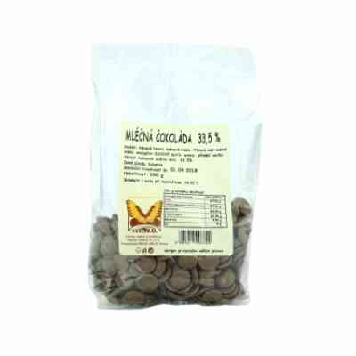 Mléčná čokoláda 33,5% - Natural 250g