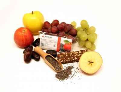 Ovocná svačinka  JABLEČNÁ S CHIA