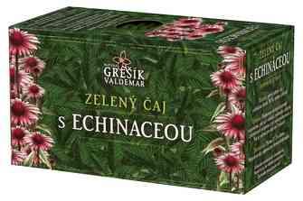 Zelený čaj s echinaceou