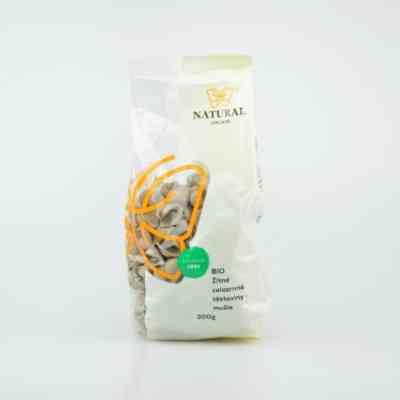 Žitné celozrnné těstoviny BIO - mušle