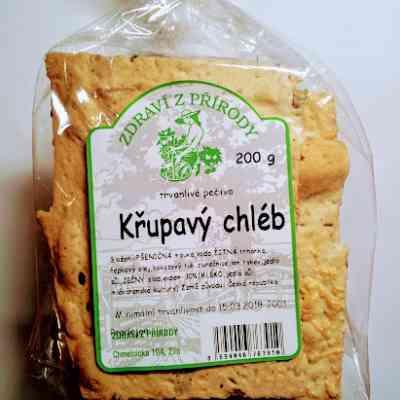Křupavý chléb se sýrem