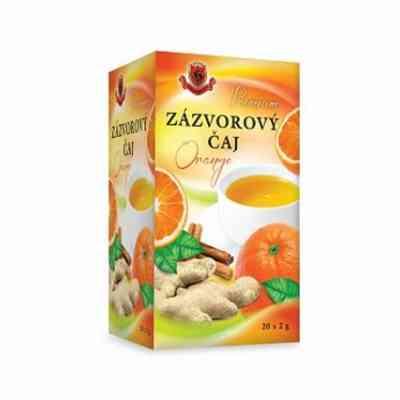 Zázvorový čaj Pomeranč