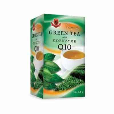 Zelený čaj s koenzymem Q10