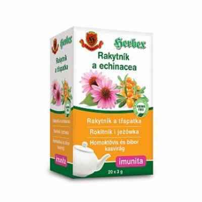 Čaj rakytník a echinacea - porcovaný