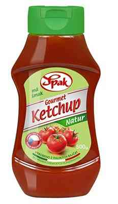 Gourmet Ketchup Natur 500g Spak